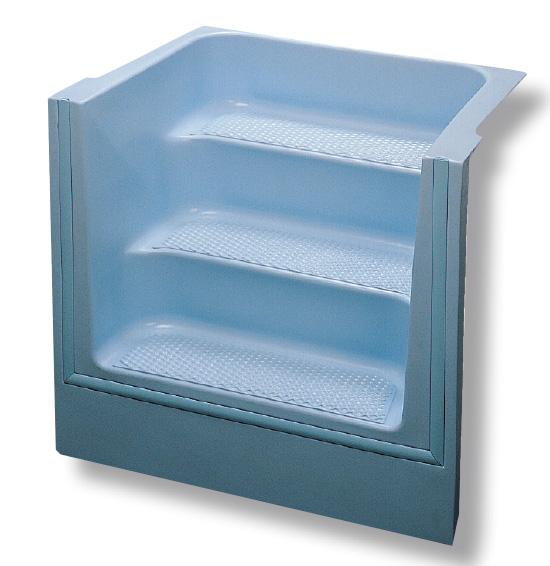Escalier piscine carr x h domcomposit for Piscine acrylique
