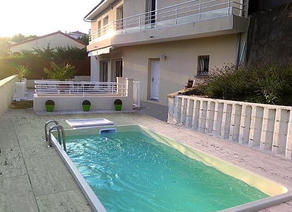 Coque mini piscine Standard 4,25m x 2,15m